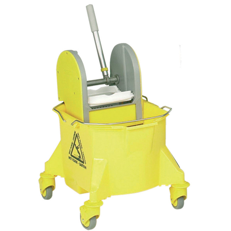 Contico 15 Litre Mobile Mop Bucket - Yellow