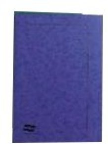 Europa Square Cut Foolscap Folder - Dark Blue - Pack of 50
