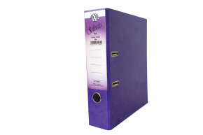 Concord IXL Lever Arch A4 File 70mm Purple (Pack of 10)