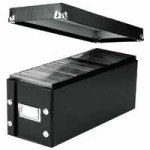 VAULTZ DVD STORAGE BOX BLK 60650095