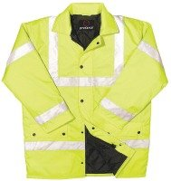 PROFORCE EN471 SITE JACKET LARGE YLW