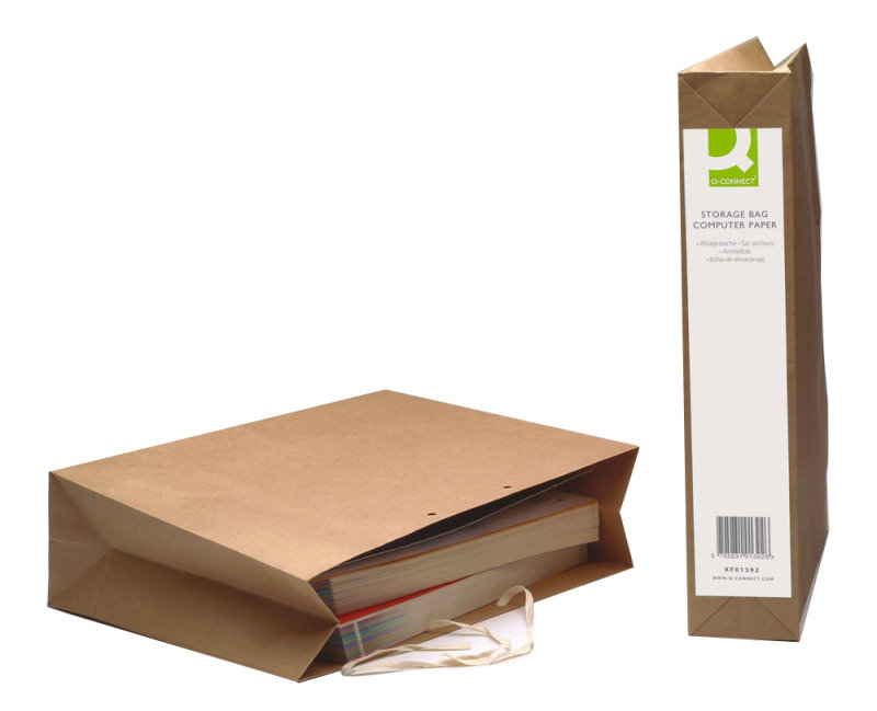 Image of Q Connect Computer Paper Storage Bag - 25 Pack