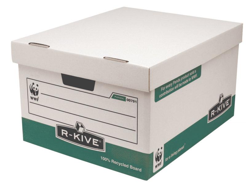 Fellowes RKive Panda Storage Box  10 Pack