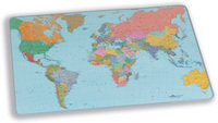 DURABLE DESK MAT WORLD MAP 40X53XM 7211