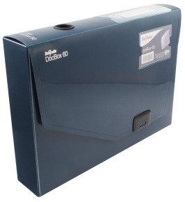 SNOPAKE DOCBOX 60 A4 BLUE