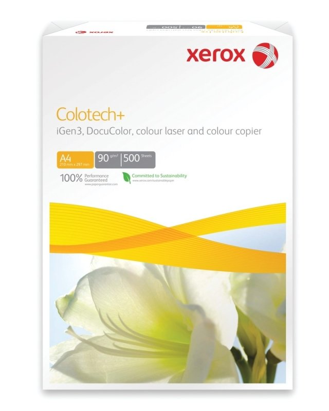 Xerox Colotech+ A4 120gsm Gloss Coated White Printer Paper - 500 Pack