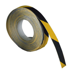 VFM Black/Yellow Self-Adhesive Anti-Slip Tape 50mm x 18.3m