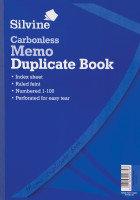 Silvine Carbonless Dupe Memo Book 714 - 3 Pack