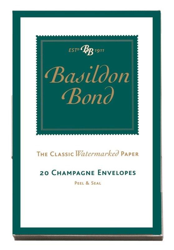 Image of Basildon Bond Env Small Champagne Pk20
