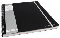 Pukkapad A4 Meeting Pad Black - 3 Pack