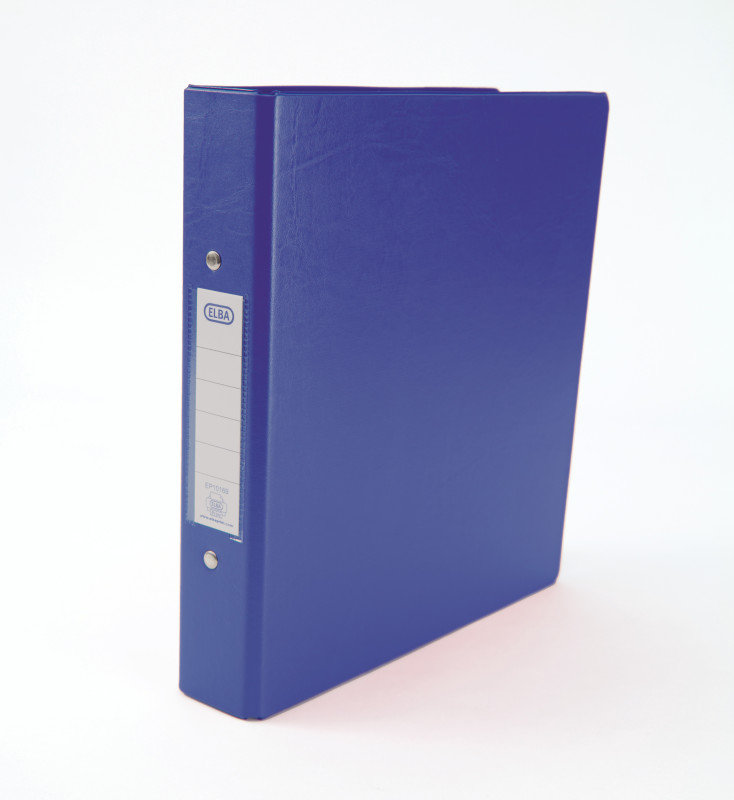 Elba Blue A5 2Ring Binder (Pack of 10)