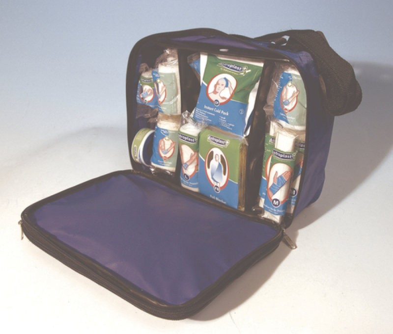 WALLACE FIRST AID BAG BLUE 1024022 PK1