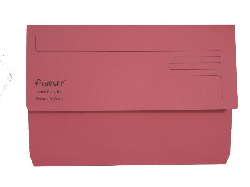 Guildhall Bright Manilla Wallet Pink - 25 Pack