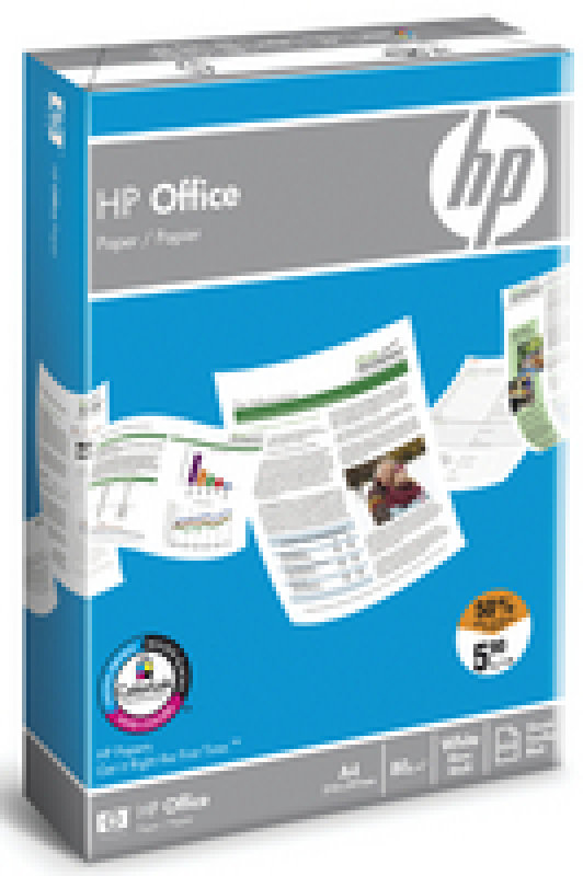 HP Office A4 80gsm White Paper - 2500 Sheets
