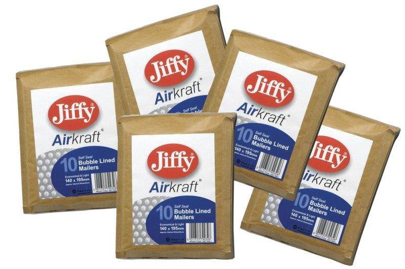 JIFFY AIRKRAFT SIZE 00 GLD MULTI PK10
