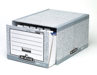 Fellowes R-kive Storage Drawer Grey/wht - 5 Pack