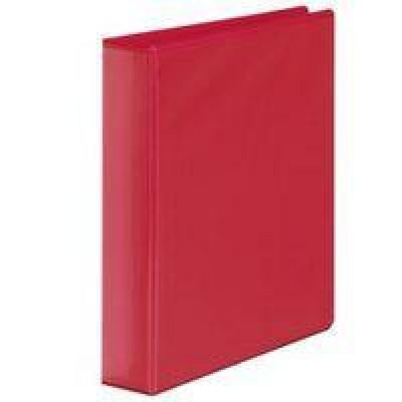 Extra Value Red A4 4D 25mm Ring Binder - 10 Pack