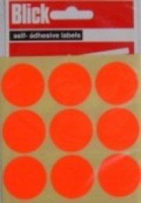 Blick Label Fluo Bag 29mm Red P36 005155 - 20 Pack