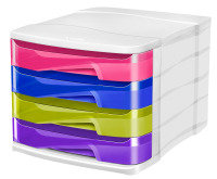 CEP PRO HAPPY 4 DRAWER MODULE MULTICOLOR
