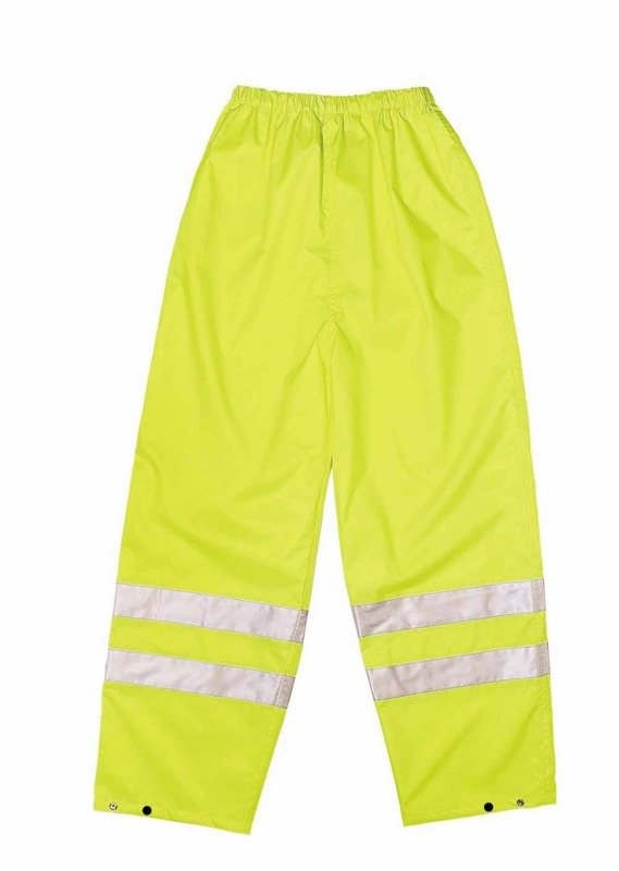 Proforce Hiviz Class1 Trousers Med Ylw