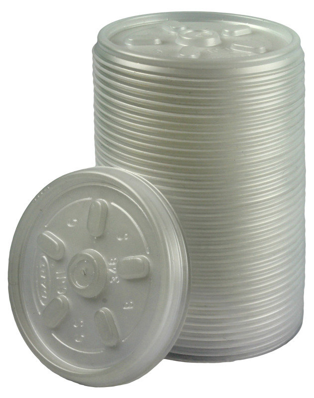 Image of Insulated Cup Lid for 7oz Cups - 100 Pack