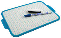 Bic Velleda Blue Trim Drywipe Board - 19x26mm