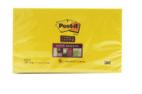 Postit Super Stickynote 76x127 Ylw 655s6 - 6 Pack