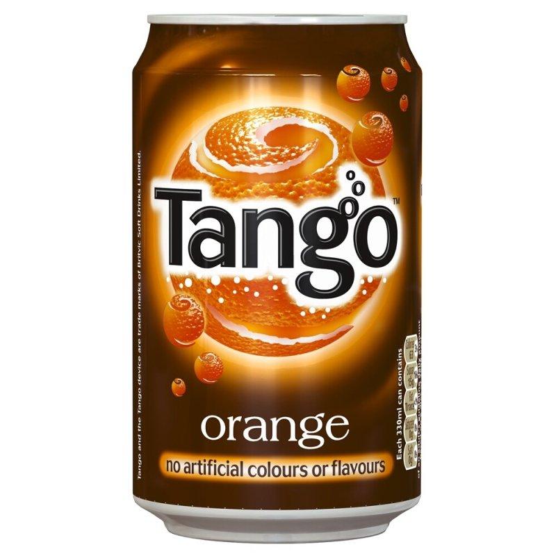 Image of Tango Orange 330ml Cans - 24 Pack