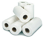2Work White 2 Ply Hygiene Roll 250mmx40m (Pack of 18)
