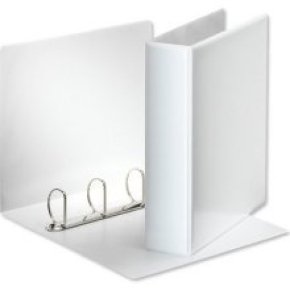 Extra Value White A4 4D 65mm Ring Binder - 10 Pack