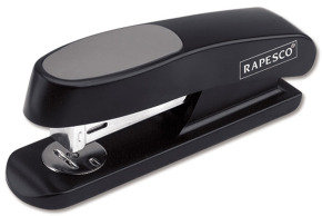 Rapesco Sting Ray Stapler Half Strip Black