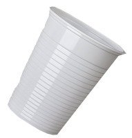 NUPIK 7OZ DRINKING CUP WHITE 5644 PK2000