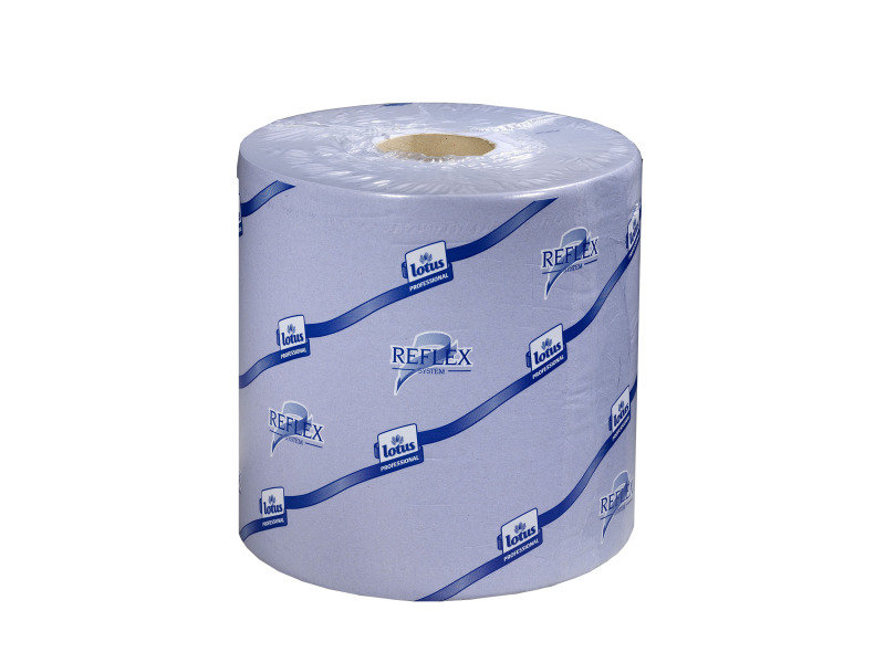 Image of Tork Reflex Blue Centrefeed Tissue 2-Ply 150m (Pack of 6)
