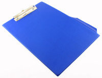 Q CONNECT PVC CLIPBOARD SINGLE BLUE