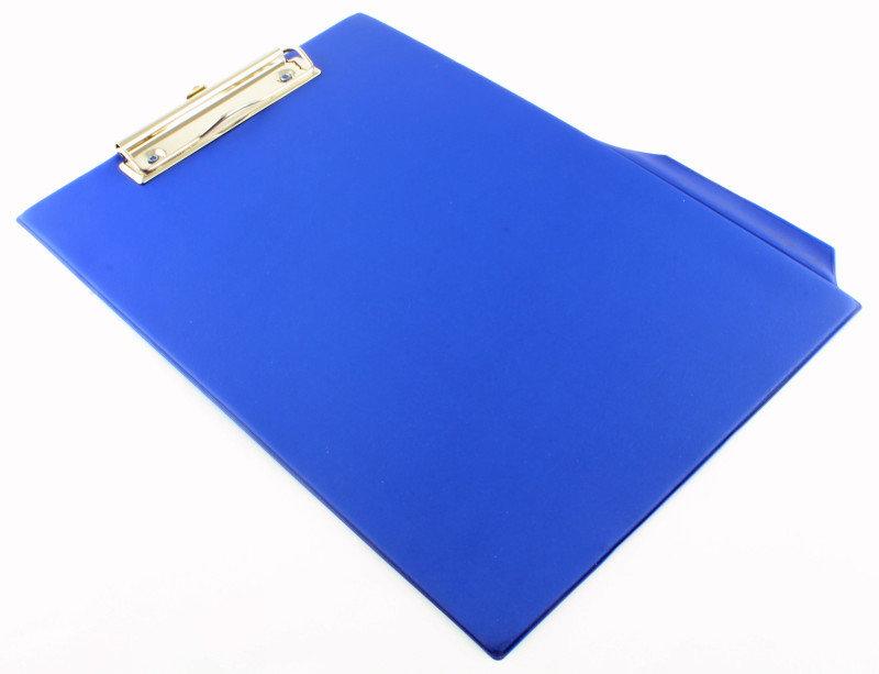 Q CONNECT PVC CLIPBOARD SINGLE BLUE