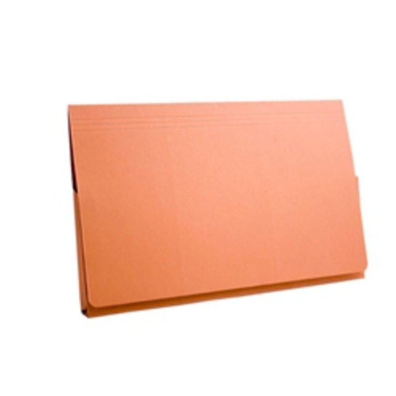 *Guildhall Full Flap Pocket Wallet Orange - 50 Pack