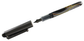 Pilot Disposable Fountain Pen Med Black - 12 Pack