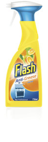 FLASH ANTI GREASE SPRAY 750ML