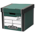 Fellowes R-Kive Prem Presto Storage Box Green - 10 Pack