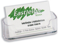 DEFLECTO BUSINESS CARD HOLDER 70101