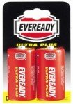 Eveready Silver D Zinc Battery