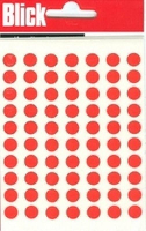 Blick Label Bag 8mm Red Pk490 003250 - 20 Pack