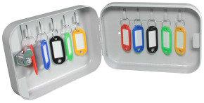 Helix Keysafe 10 Key Cabinet - Grey