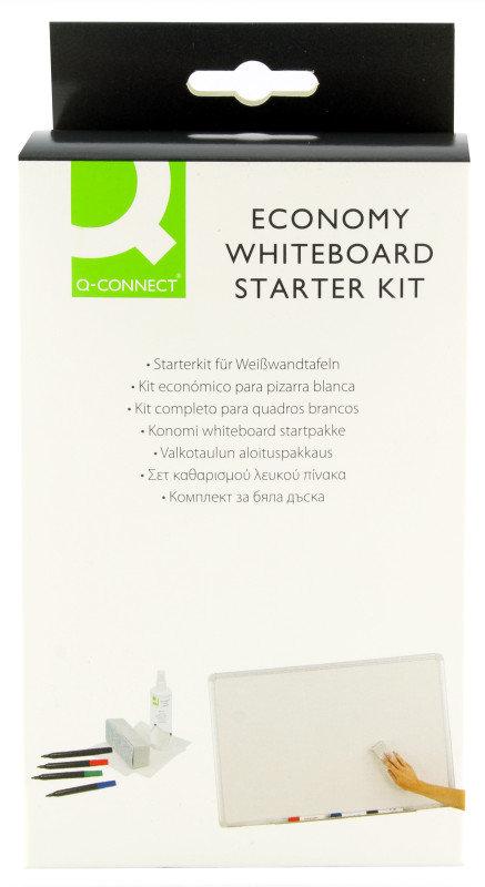 QCONNECT ECONOMY WHITEBOARD STARTER KIT