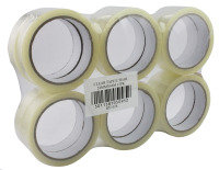 Extra Value 24mm Wide Clear Tape - 12 Pack