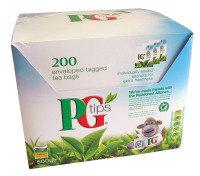 PG Tips Envelope Tea Bags - 200 Pack