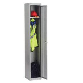 Bisley 457mm 1 Door Locker - Goose Grey