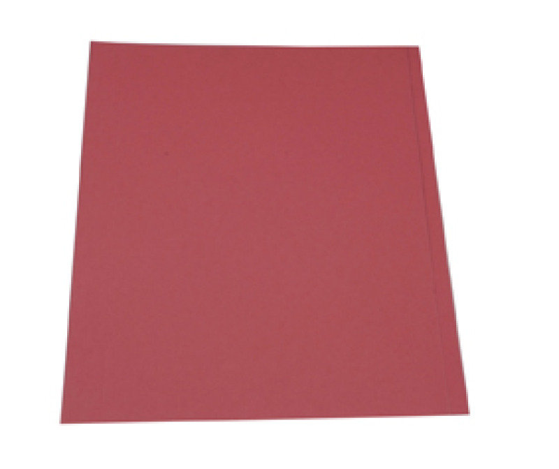 *Guildhall Square Cut Folder 315gsm Red - 100 Pack