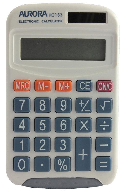 Aurora HC133 Pocket Calculator