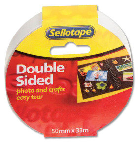 Sellotape Doublesided Tape 50mmx33M 2294 - 3 Pack
